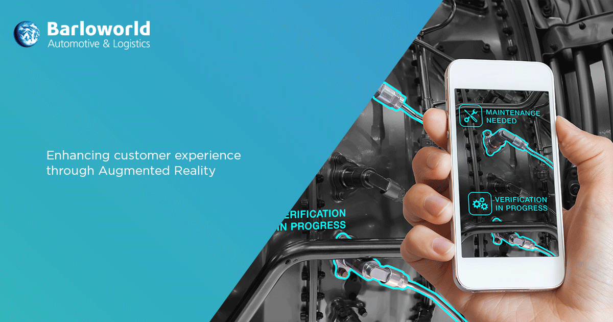 Enhancing customer experience through augmented reality