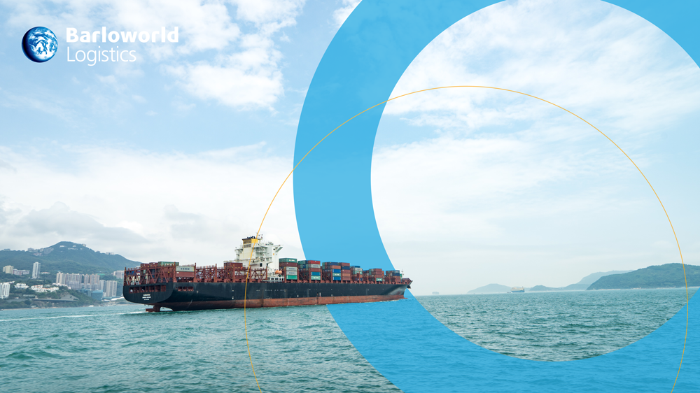 Sea freight image - ship